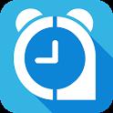 Alarm clock to wake you up icon