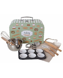 Bakery set with case