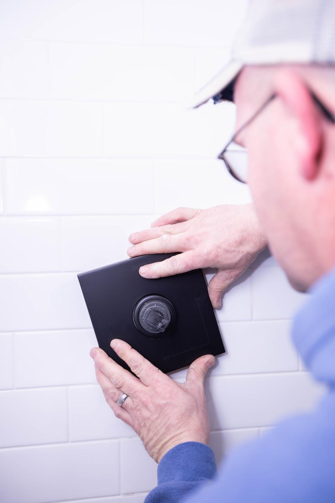 person installing device