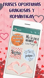 Stickers de amor y Piropos para WhatsApp 💕 Screenshot