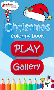 Christmas Coloring Book Games- screenshot thumbnail