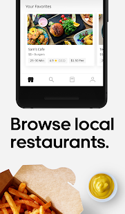 Uber Eats: Local Food Delivery Screenshot