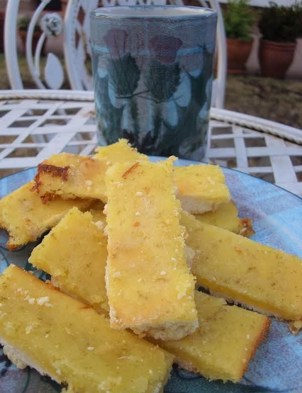 Mojito Shortbread Bars Recipe