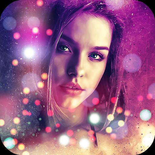 Sparkle Overlay Photo App Icon