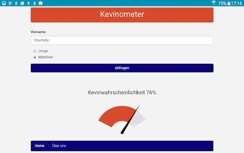 Kevinometer- screenshot thumbnail