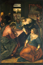 Photo: Tintoretto, Christ in the House of Mary and Martha, Ca. 1580