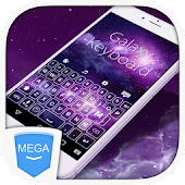 Galaxy Mega Keyboard Theme