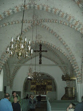 Photo: The group in the church.