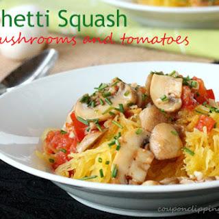 Spaghetti Squash Tomato Mushroom Recipes