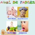 Amor de padres Cuidados bebés icon