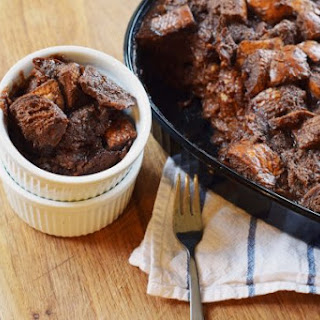 Bobby Flay's Chocolate Bread Pudding.