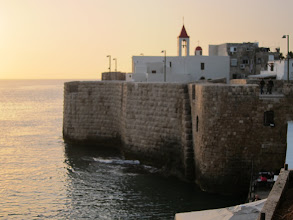 Photo: City walls of Akko (historic Acre)