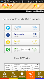 Cubic Reward - Free Gift Cards Screenshot