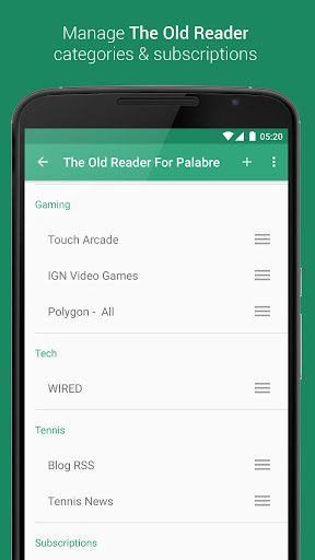 The Old Reader for Palabre Apk Download Free for PC, smart TV