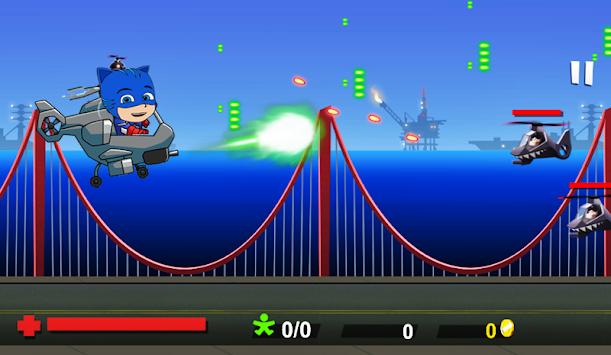 Super PJ Hero Team : Heli Strike apk screenshot