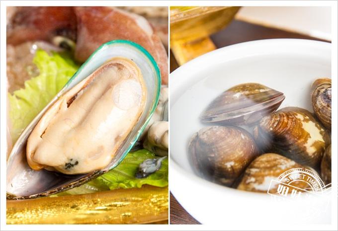 旗山錢源日式涮涮鍋大海陸鍋淡菜蛤蜊