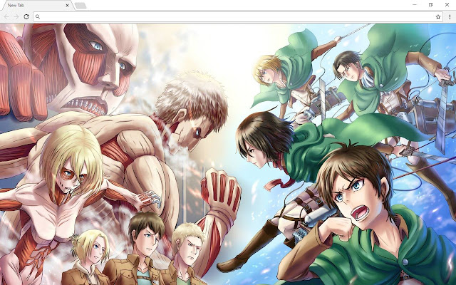 Attack On Titan Wallpapers New Tab