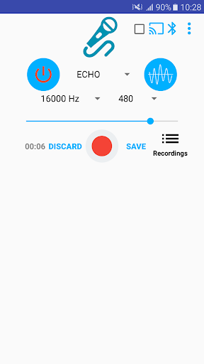 Microphone Pro (No delay) 2.0.29 screenshots 1