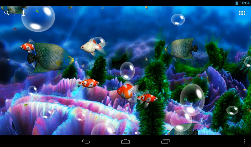 aquarium 3d live wallpaper android apps on google play