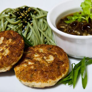 Water Chestnut Chicken Patties