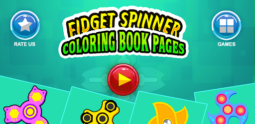 Fidget Spinner Coloring Book App Apk Free Download For Android PC Windows