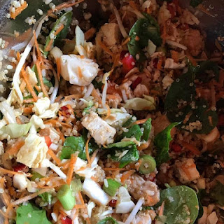 Thai Chicken Salad with Brown Rice & Quinoa Recipe