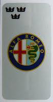 Skattemärke Alfa Romeo
