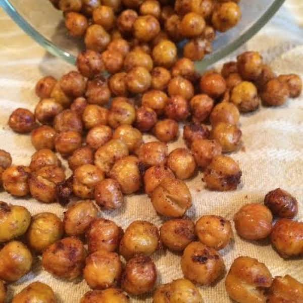 Roasted Chickpeas! The Perfect Healthy Snack!