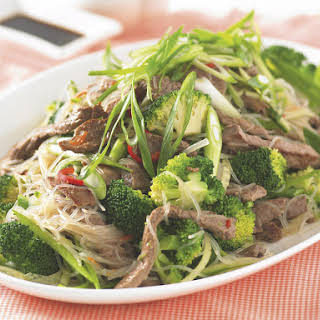Asian Beef and Noodle Salad.