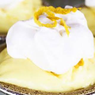 Lemon Cream No-Bake Mini Cheesecakes.