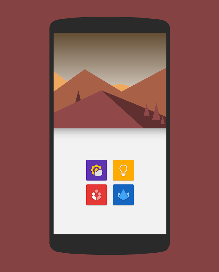 Naxos Flat Icon Pack- screenshot