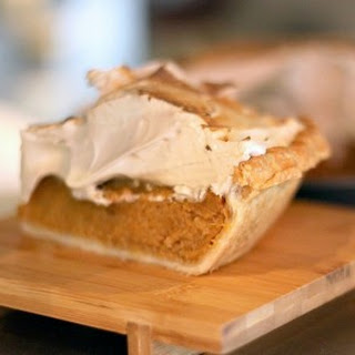 Down Home Sweet Potato Pie with Maple Syrup Meringue