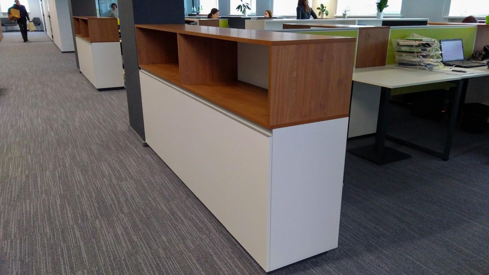 Модульный низкий шкаф - Модульная офисная мебель, Металлические каркасы столов, Мебельные опоры ✆ 0679245444