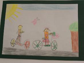 """Photo: praca Ani : """" Jeździmy rowerem bo ... się opłaca """""""