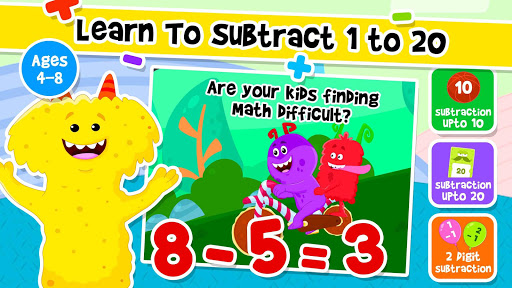 Addition and Subtraction for Kids - Math Games 1.8 screenshots 11