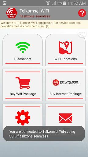 Telkomsel WiFi screenshot 4