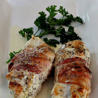 Chicken with Bacon, Cream and Thyme
