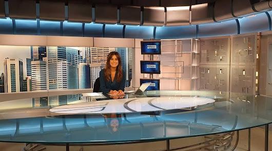 La periodista almeriense Isabel Jiménez celebra el primer cumpleaños de su hijo