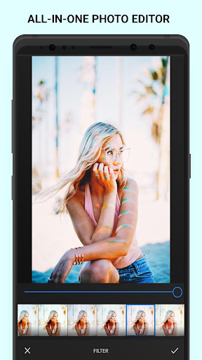 Screenshot for Analog Summer - Palette Summer - Film Filters in United States Play Store