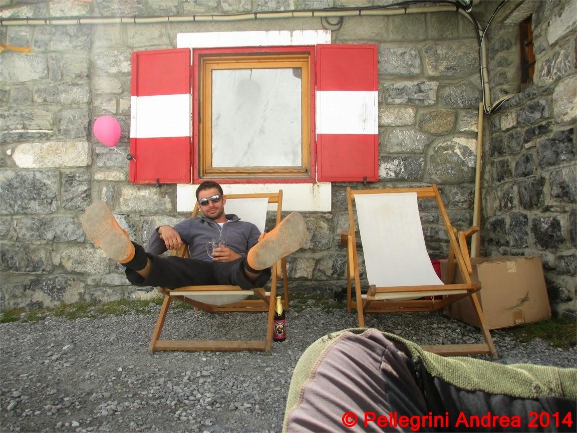 Photo: IMG_8895 Riccardo sullo sdraio al sole