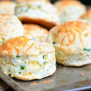 Jalapeño Cheddar Buttermilk Biscuits.