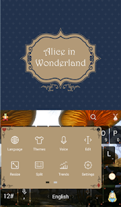 Alice In Wonderland Theme screenshot 1