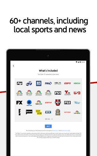 Download YouTube TV - Watch & Record Live TV MOD APK 7