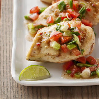 Grilled Fresh Salsa Chicken