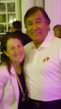 Photo: Jacqueline with Billy Mills