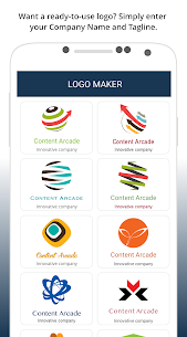 Logo Maker: Cool Logo Designer & Creator Mod 2.3 Apk [Pro Features Unlocked] 2