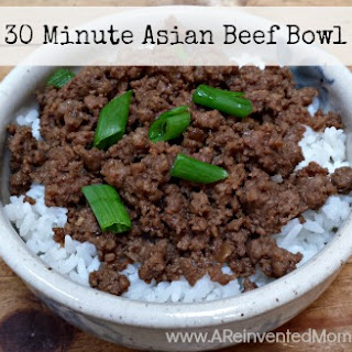 30 Minute Asian Beef Bowl