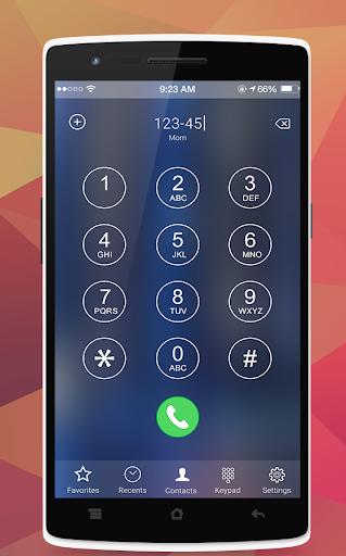 iOS10 Caller Screen