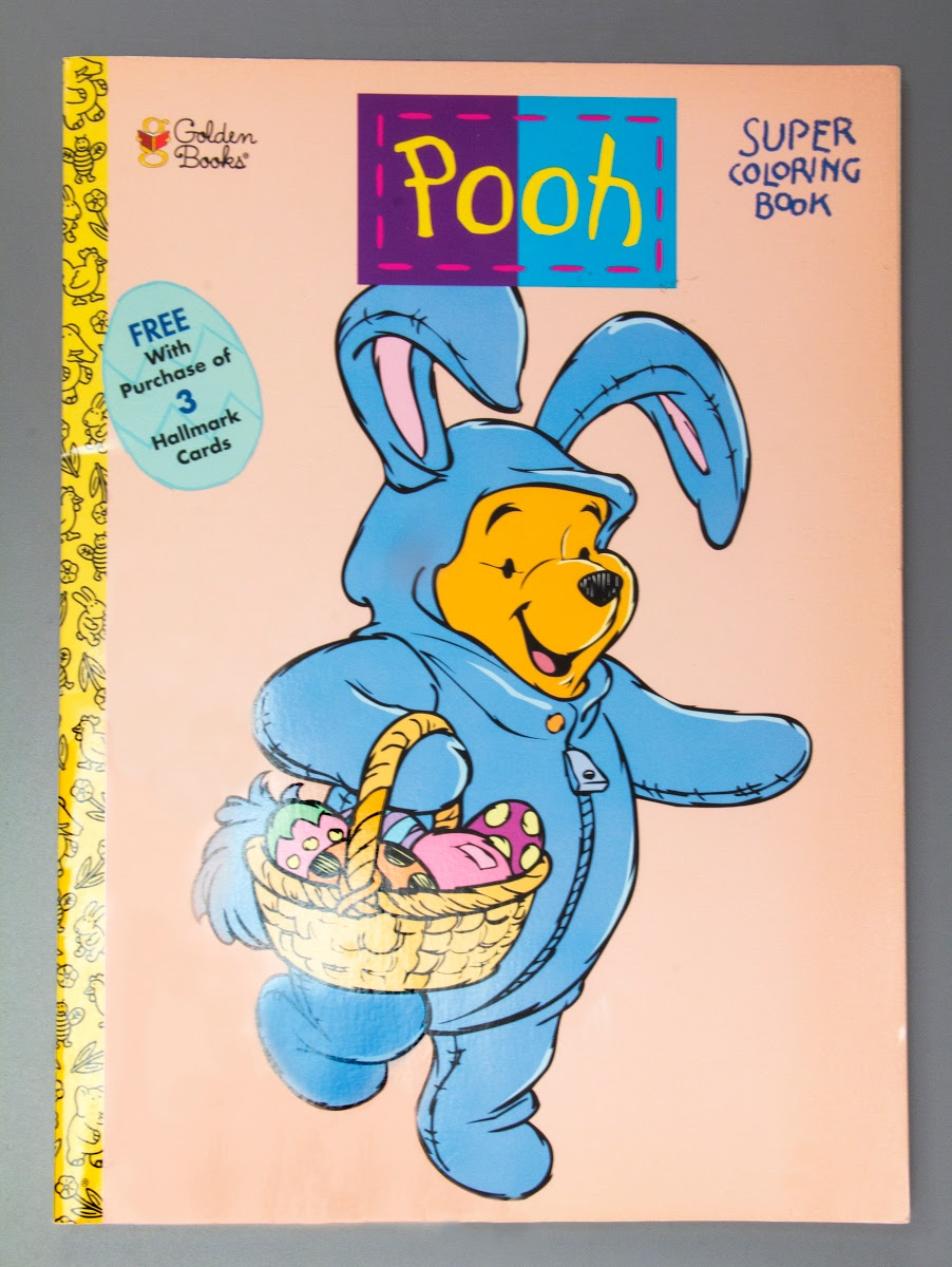 Coloring Book Golden Books Pooh Super Coloring Book Free With Purchase Of 3 Hallmark Cards Google Arts Culture