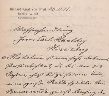 Briefkopf eines Briefes an Carl Haelbig; (c) Antiquariat Meindl & Sulzmann, Wien, Österreich